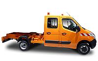 OPEL Movano Chassis Cabine DC VU 4p Châssis double cabine