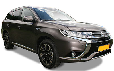 LLD MITSUBISHI Outlander 5p SUV 2.2 DI-D 150ch Black Collection + 4WD BVA 7 places