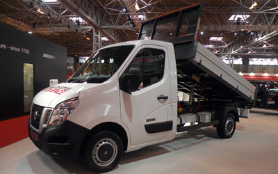 LLD NISSAN NV400 - Benne + Coffre VU 2p Pick-up L3H1 2.3 DCI TT 145 S/S 3500 Optima RWD