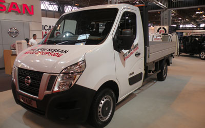 LLD NISSAN NV400 - Chassis VU 2p Châssis cabine L2H1 2.3 DCI 130 3500 Optima FWD