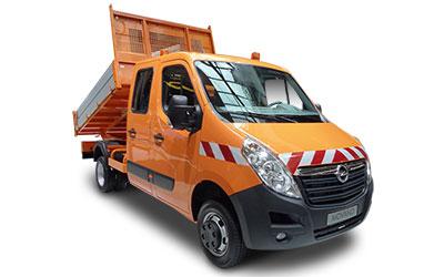 LLD OPEL Movano Benne DC VU 4p Pick-up 2.3CDTI 130 L3 H1 3.5T FWD