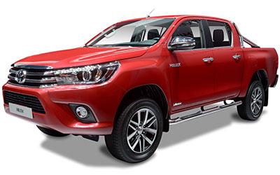 LLD TOYOTA Hilux XC VU 4p Pick-up 4WD 2.4 D-4D X-tra Cabine LeCap