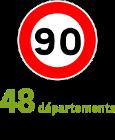 90 km h