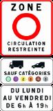 zone circulation restreinte