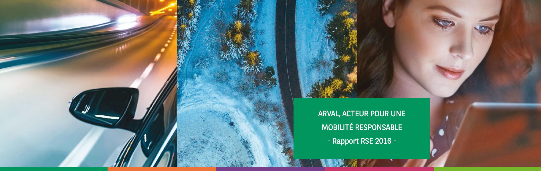 Démarche RSE Arval - rapport 2016