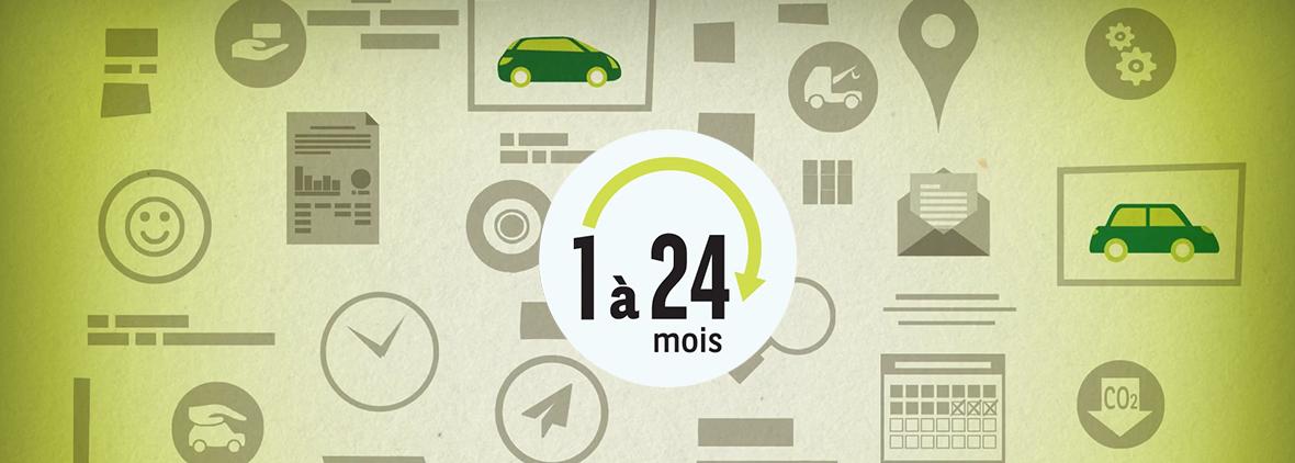 la location de véhicules au mois par Arval