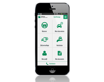 app autopartage
