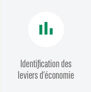 Identification des leviers d'économie