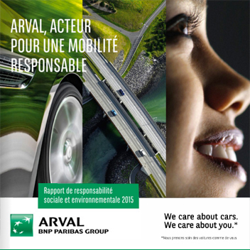 Rapport RSE Arval 2015