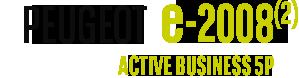 Peugeot e-2008 active business 5p