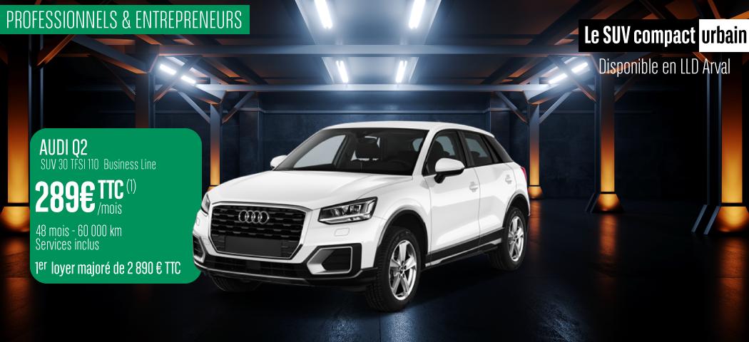 Offre LLD Audi Q2