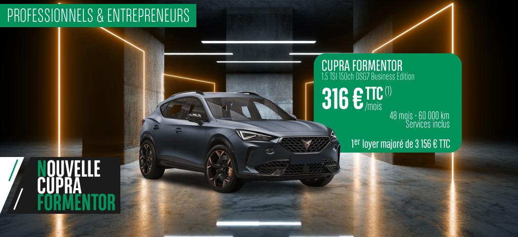 Offre LLD Cupra Formentor