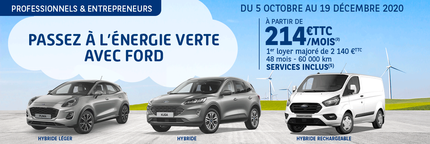 Offre LLD Ford