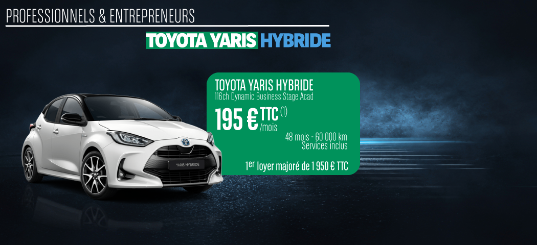 Offre LLD Toyota Yaris