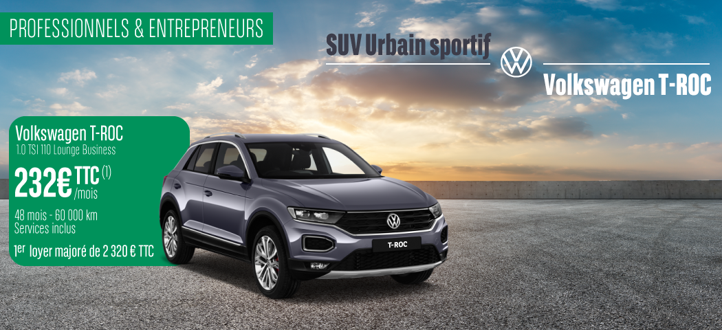 Offre LLD Volkswagen T-Roc