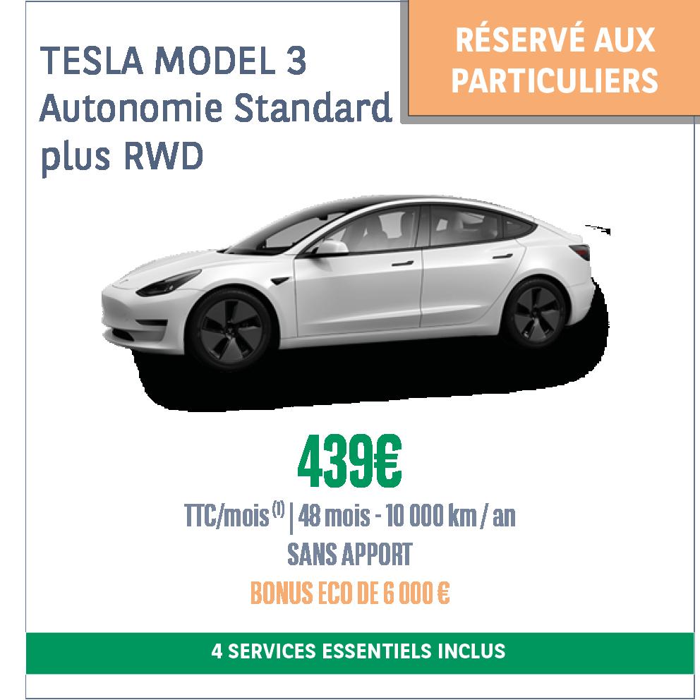 Offre LLD Tesla