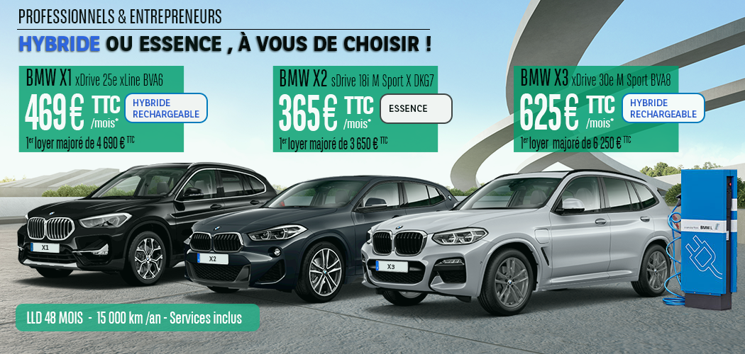 Offres LLD BMW