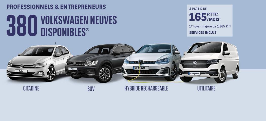 Offres LLD Volkswagen