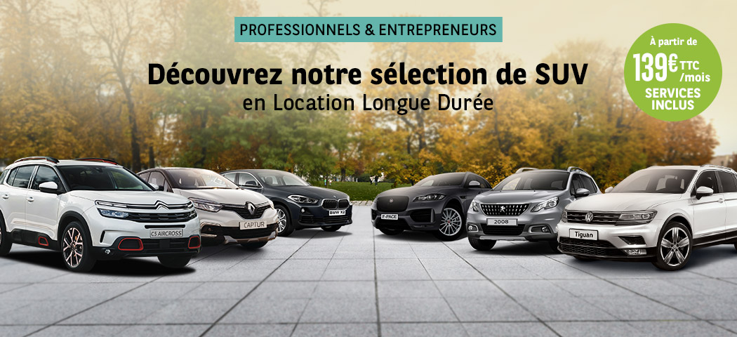 Notre sélection de SUV