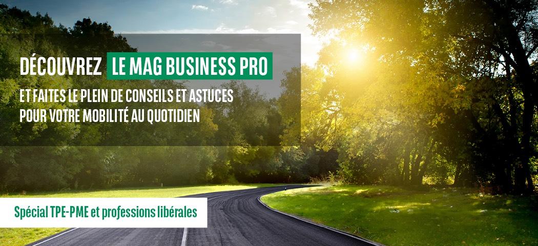 Découvrez le Mag Business Pro