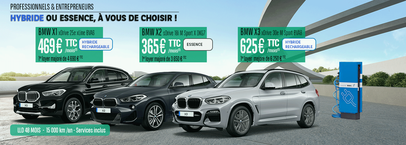Offre LLD BMW