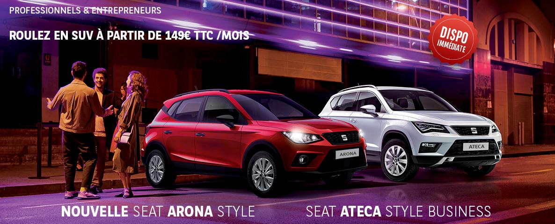 LLD Seat Ateca et Arona