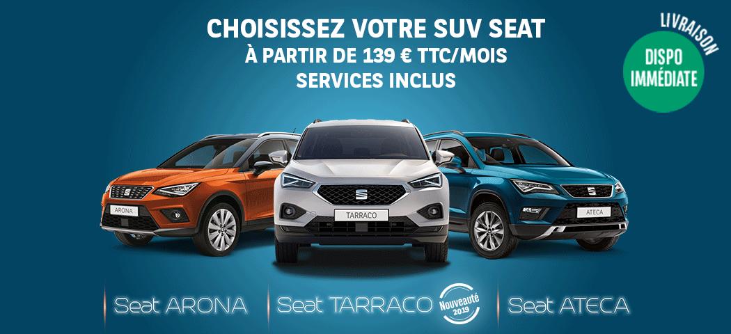 Choisissez votre SUV Seat