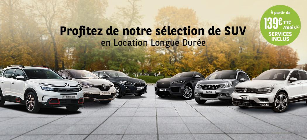 Profitez de notre sélection SUV