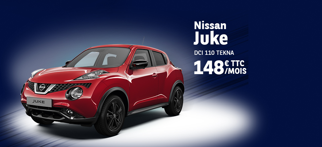 nissan juke lld v hicule nissan juke en location longue dur e leasing lld nissan juke pour. Black Bedroom Furniture Sets. Home Design Ideas
