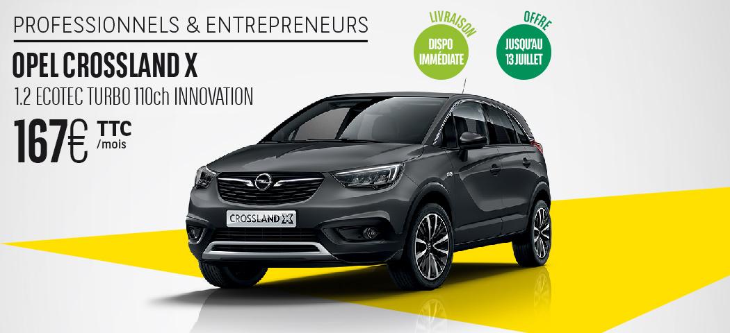 Offre LLD Opel Crossland