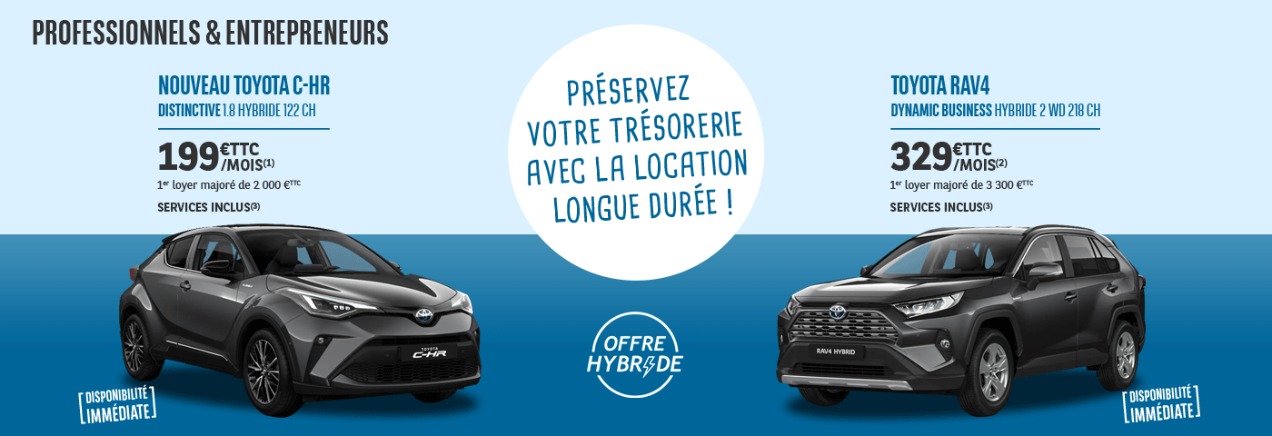 Offre LLD Toyota