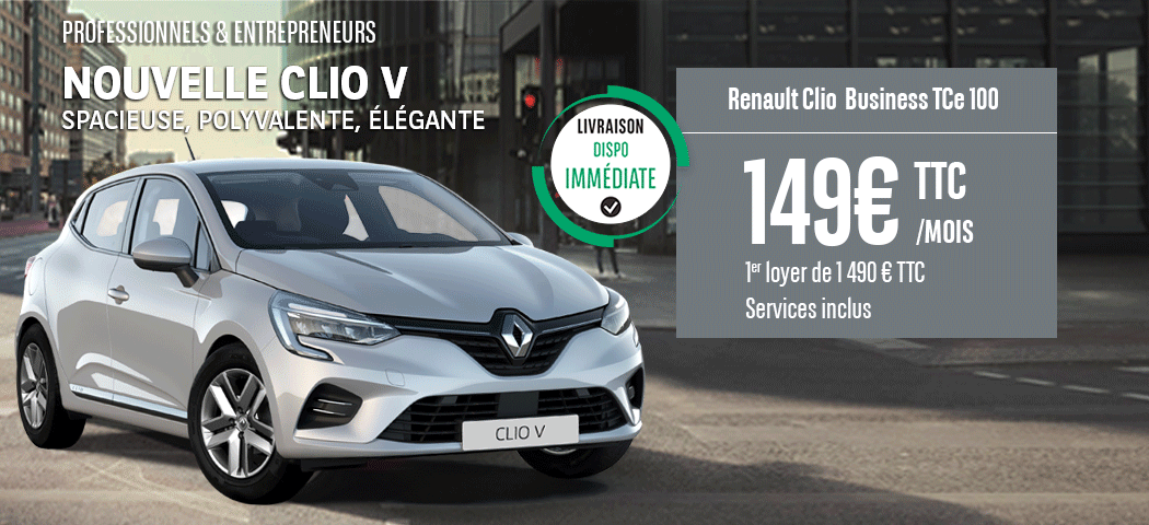 Offre LLD Renault Clio