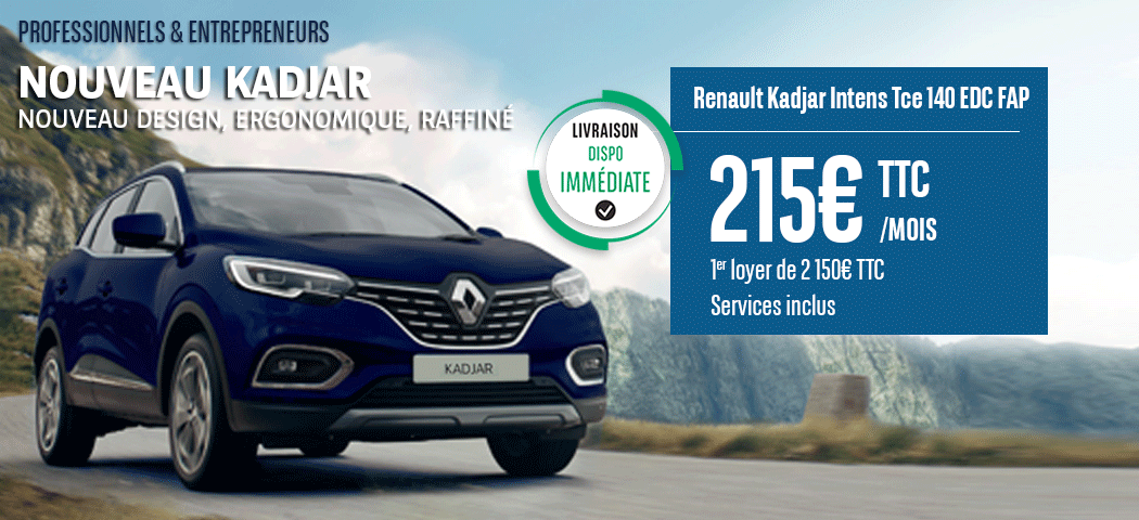 Offre LLD Renault Kadjar