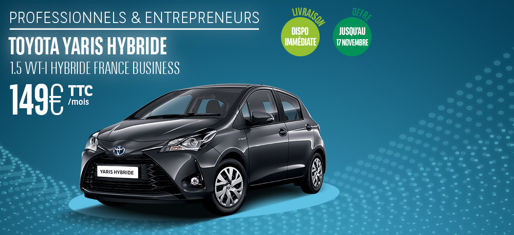 Offre LLD Toyota Yaris Hybride