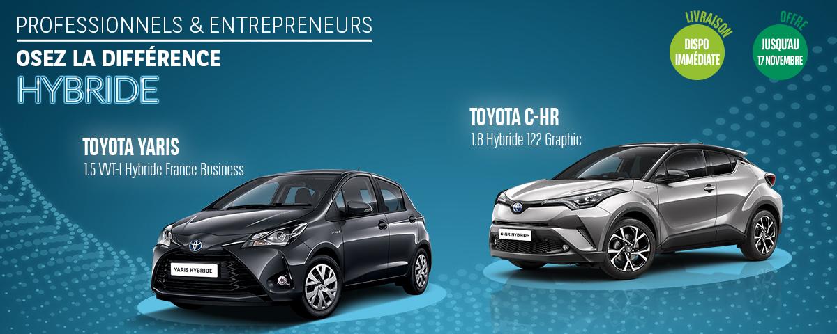 Offres LLD Toyota Hybride