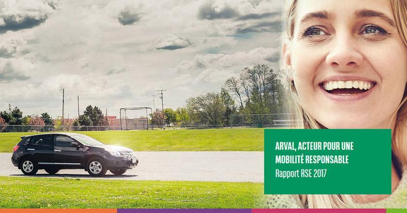 Arval, Acteur pour une mobilité responsable